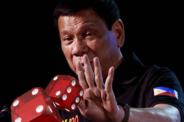 PH President tossing dice