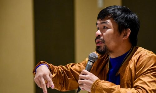 Manny Pacquiao fights gambling corruption